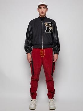 Uniform Varsity Patch Jacket Black