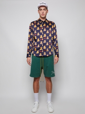Terry Shorts Forrest Green