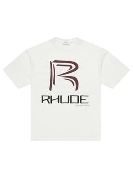 Raceway T-shirt white