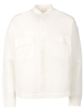 MALTA BUTTON DOWN SHIRT CREAM WHITE