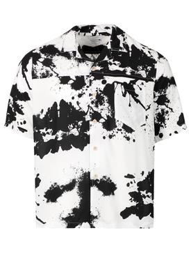 RHORSHACH SPLATTER PAINT SHORT-SLEEVE SHIRT