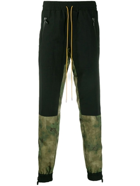 Camouflage and Black Flight Pants