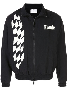 Black and White Track Jacket