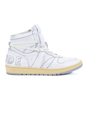 Rhecess Hi-Top Vanilla Sneakers