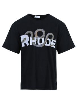 Black Snake Logo T-shirt