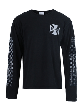 Classic checkers long-sleeve t-shirt