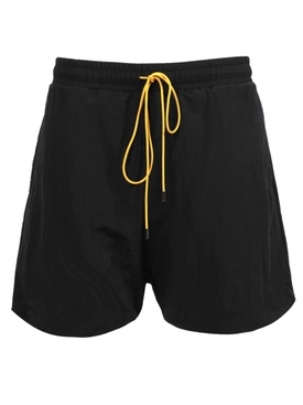 Drawstring Shorts, Black