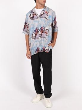 Hawaiian Shark Shirt