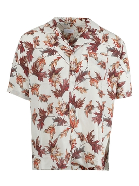 Hawaiian leaf print shirt