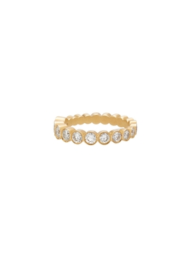 Croissant De Ensemble Diamond Ring