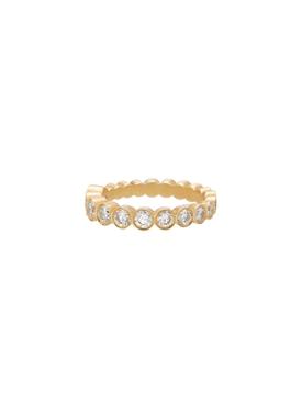 Croissant De Ensemble Diamond Ring, 52