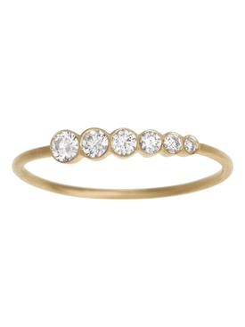 Pleine de Lune Grand Diamond Ring