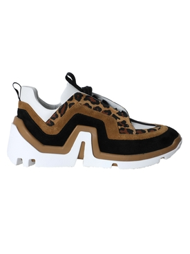 Vibe paneled sneakers LEOPARD