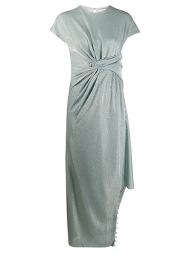 Mint Green Asymmetric Dress
