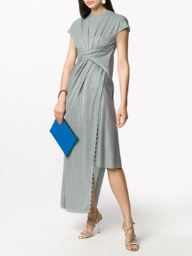 Mint Green Asymmetric Dress
