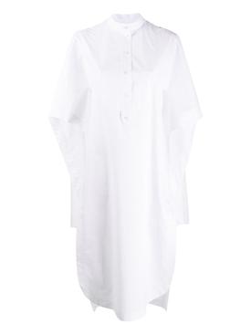 Cape detail short dress