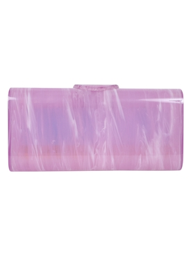 Edie Parker - Large Lara Clutch Grape - Women