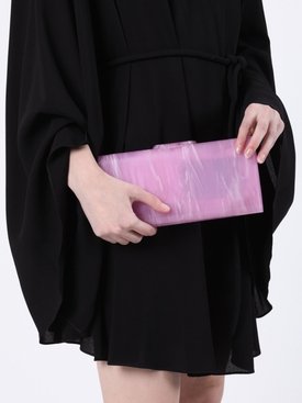 Large Lara Clutch Grape