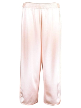 SILK CHARMEUSE track pant
