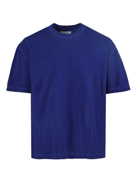 Royal Blue Over-sized crewneck t-shirt ROYAL BLUE