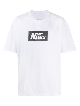 Fake News T-shirt WHITE