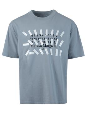 Number Logo T-Shirt STORM GREY