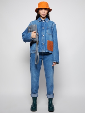 Anagram Stonewashed Denim Jacket