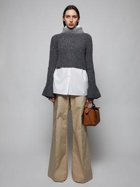 Wool SCARF SWEATER