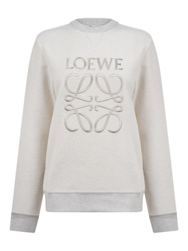 Grey Anagram Pullover Sweatshirt