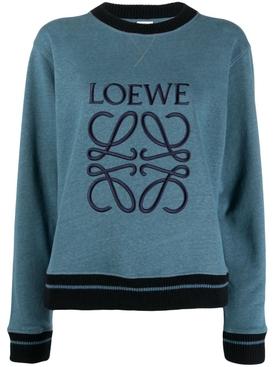 Anagram Sweatshirt Duck Blue
