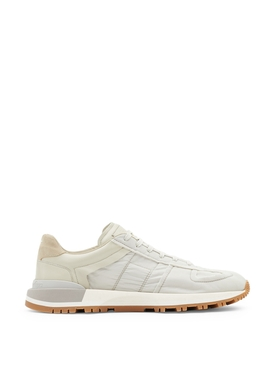 CLASSIC LOW-TOP PANELED SNEAKER Frost White