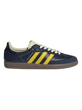 X WALES BONNER SAMBA LOW-TOP SNEAKER, COLLEGIATE NAVY