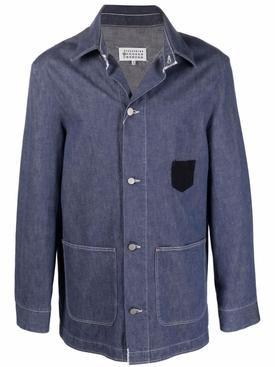 Kaban Flannel Shirt Washed Blue