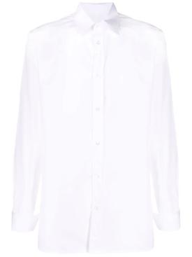 Long Sleeve Button Down Classic Shirt White