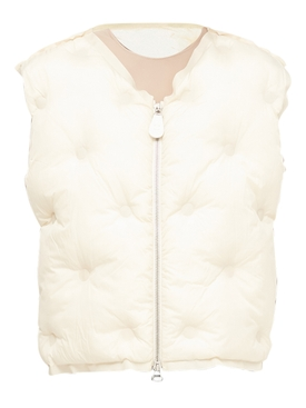 Ivory Puffer Vest