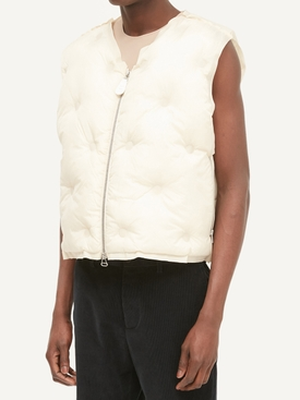 Ivory Puffer Vest