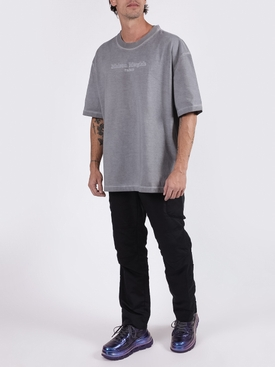 Grey logo graphic t-shirt