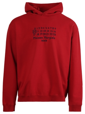 CLASSIC LOGO HOODIE MILITARY RED