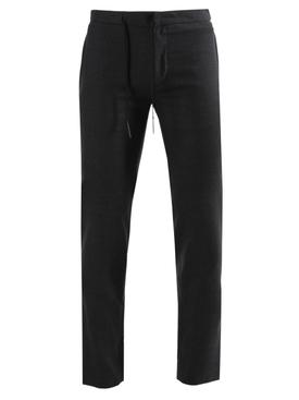 Dark grey drawstring pants