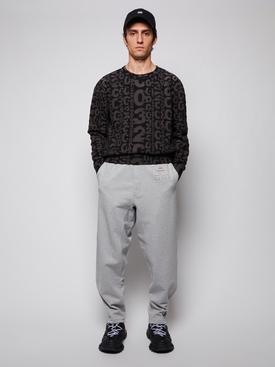 Cotton Logo Jogger Pants GREY MELANGE