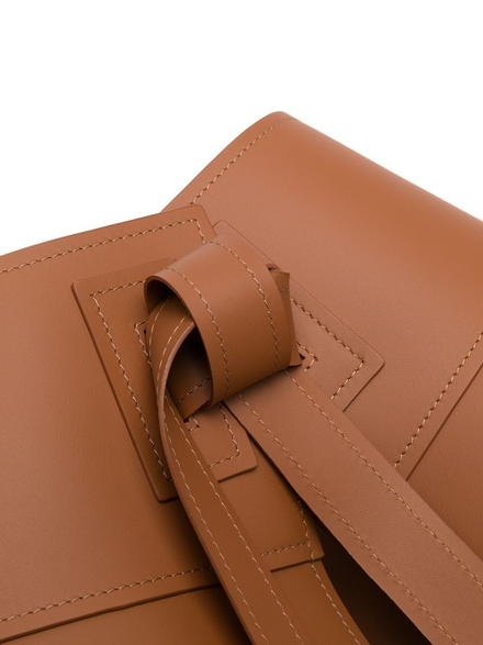 Loewe Leather Obi Corset Belt Tan