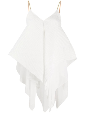 Loewe - White Asymmetric Panel Blouse - Women