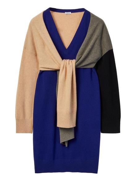 Loewe Tie Sweater Dress