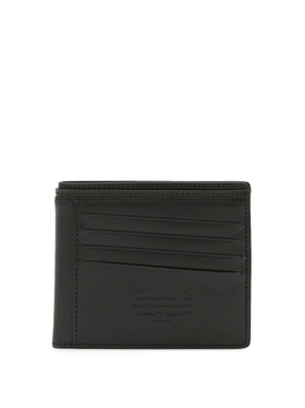CLASSIC ASYMMETRIC CARD SLOT WALLET BLACK