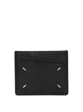 Grosgrain Branded Card Holder BLACK
