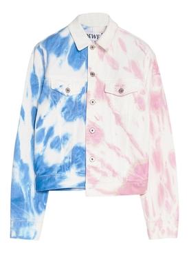Paula's Ibiza Tie Dye Denim Jacket
