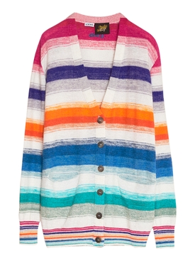 Paula's Ibiza Multicolor Striped Cardigan