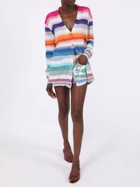 Paula's Ibiza Multicolor Striped Cardigan