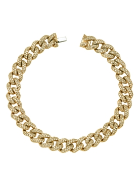 Medium Link diamond Bracelet