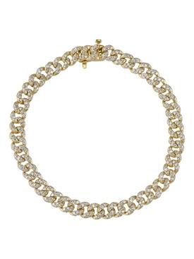 mini link diamond bracelet